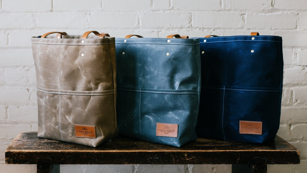 handmade bags from Leather Works Minnesota
