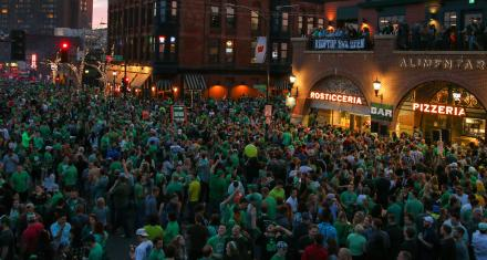 LuckyPalooza Returns to Kick Off Week of St. Patrick's Festivities