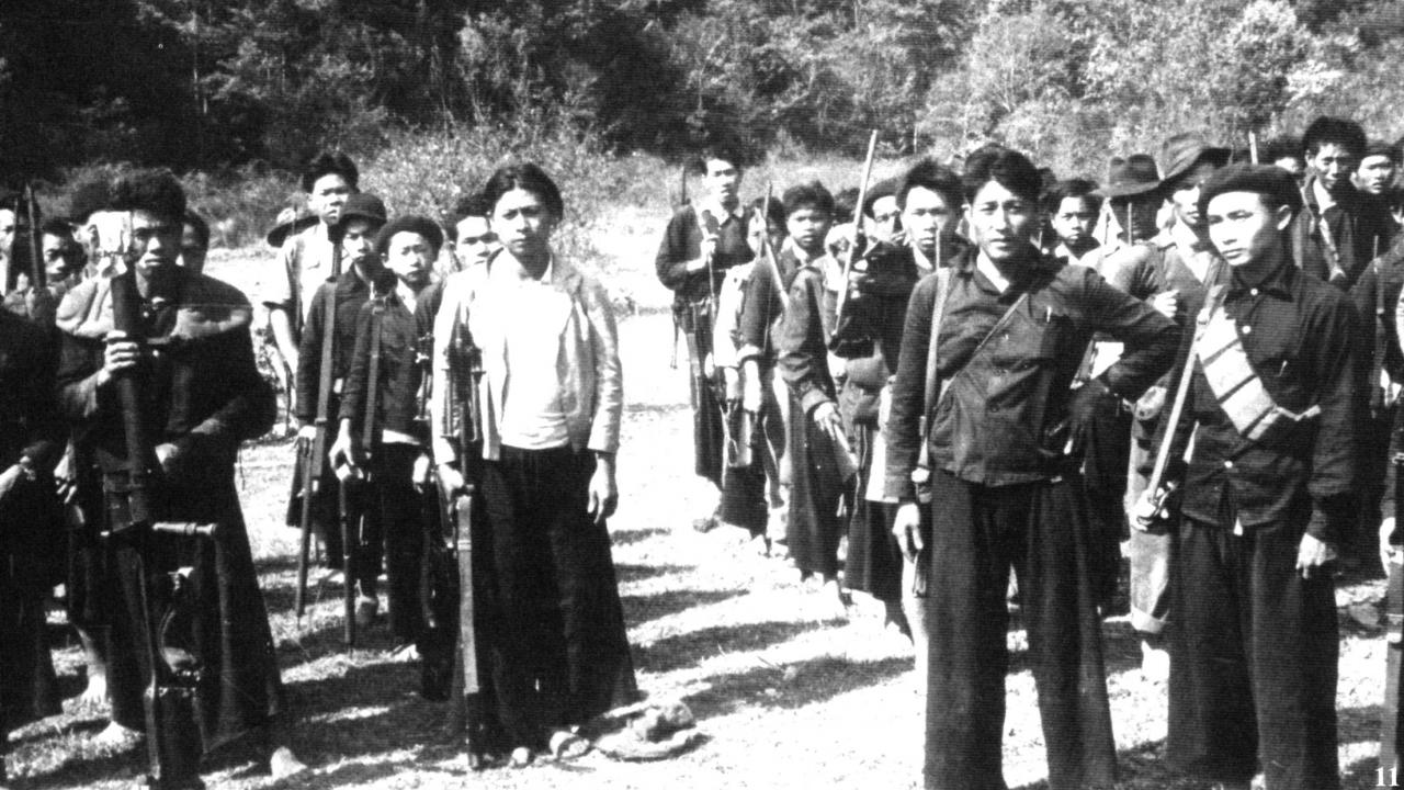 Hmong Soldiers Vietnam War