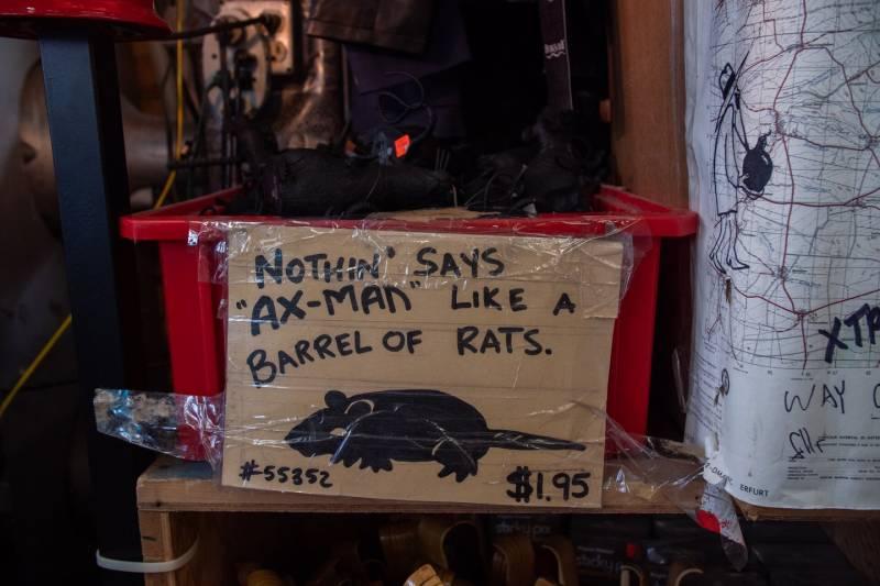 Ax-Man Surplus Store Barrel of Rats