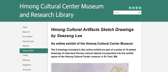 Hmong Cultural Center Museum Exhibit