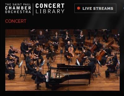 Saint Paul Chamber Orchestra Concert Library
