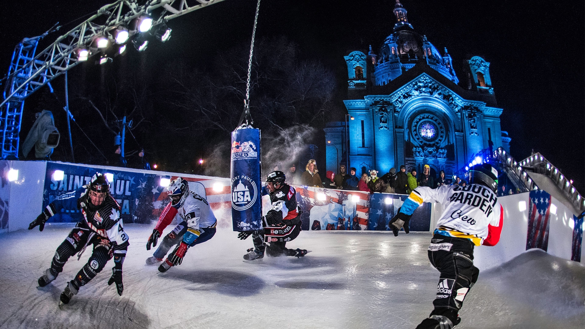 Since 2012, Saint Paul has been the only US city on the Red Bull Crashed Ice world championship circuit.