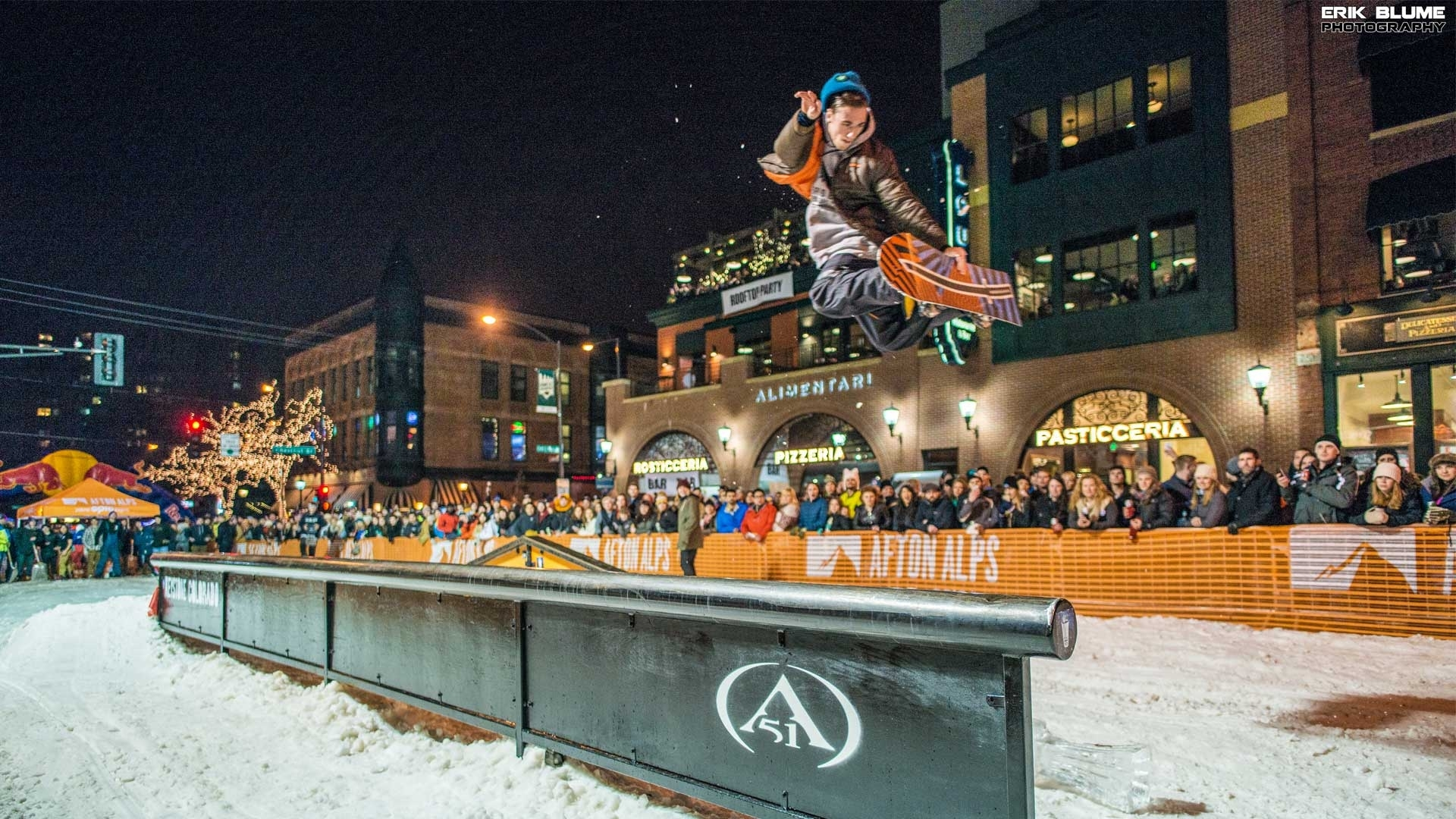 Celebrate the Red Bull Crashed Ice Championships on West 7th at the Crashed Ice Village, February 4, with music, food, drink and performances from Afton Alps athletes.