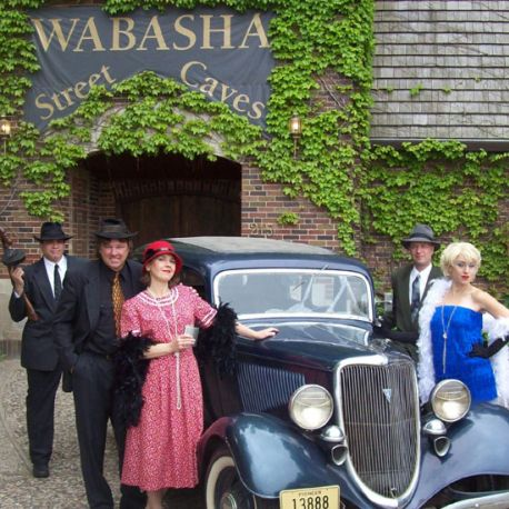 Once a speakeasy in the 1920s and 30s, Wabasha Street Caves offers guided tours, a swing dance night on Thursdays and is thought to be haunted.