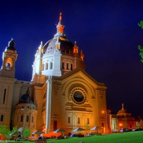 The Cathedral of Saint Paul is an immaculate structure overlooking downtown.
