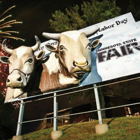 One of the nation's largest and best-attended fairs, the Minnesota State Fair is twelve days of fun ending Labor Day.
