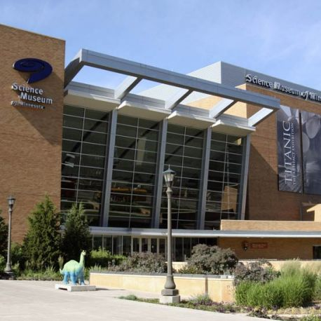 The world-renowned Science Museum of Minnesota annually attracts the top traveling exhibits from around the globe.