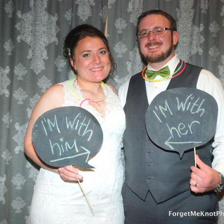 Bride & Groom Photo-op!