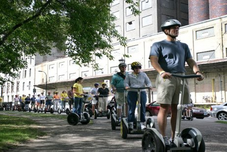 "Segway Magical History Tours: The Minneapolis ""Insider"" Segway Experience"