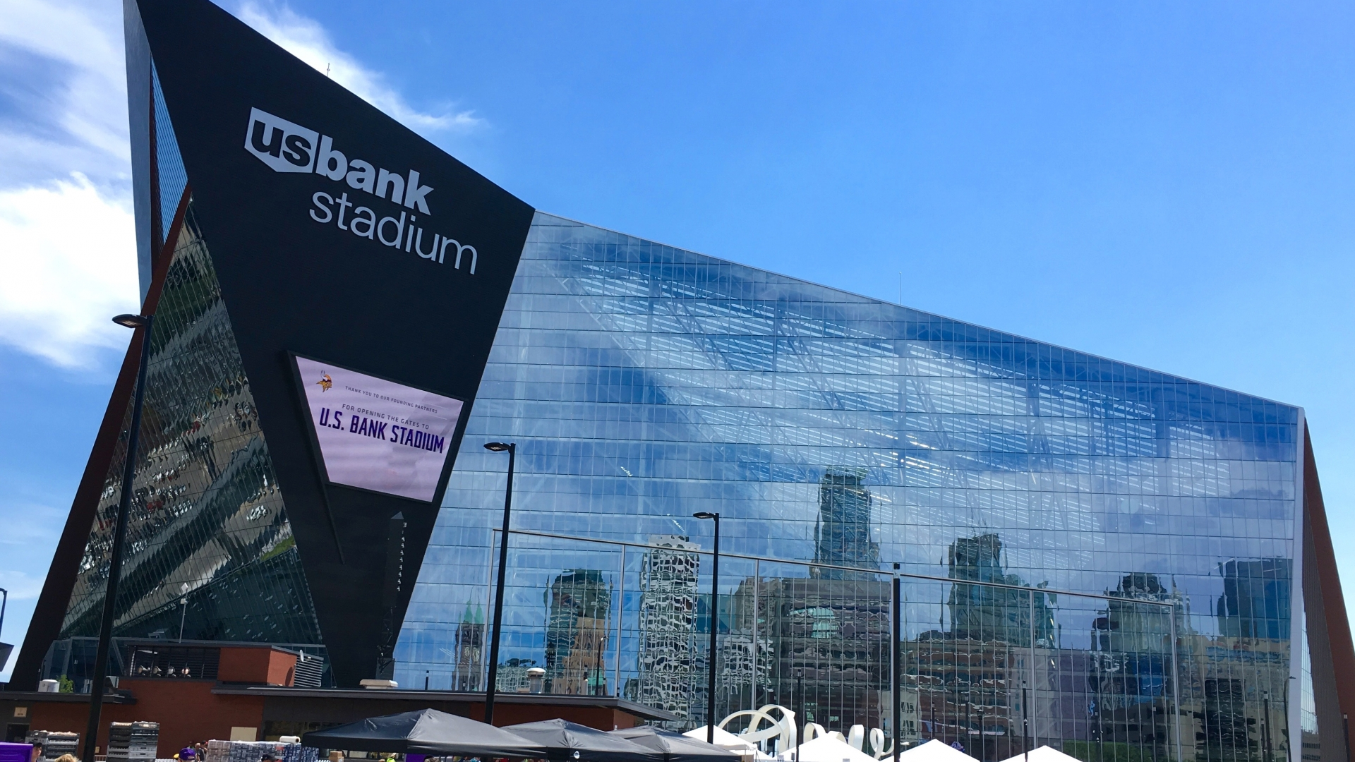 The recently completed U.S. Bank Stadium in Minneapolis will host Super Bowl LII in 2018