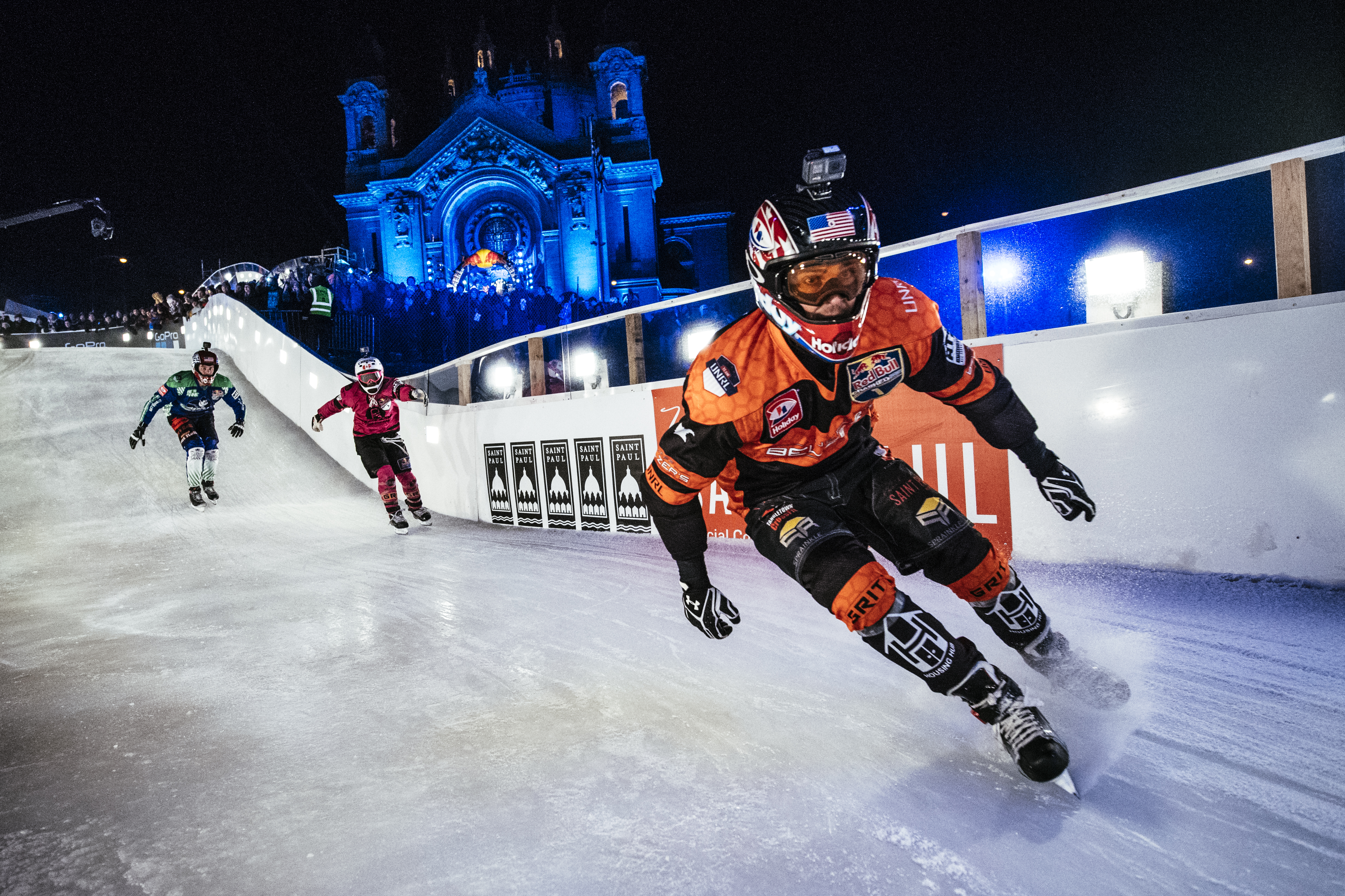 Crashed Ice competitors