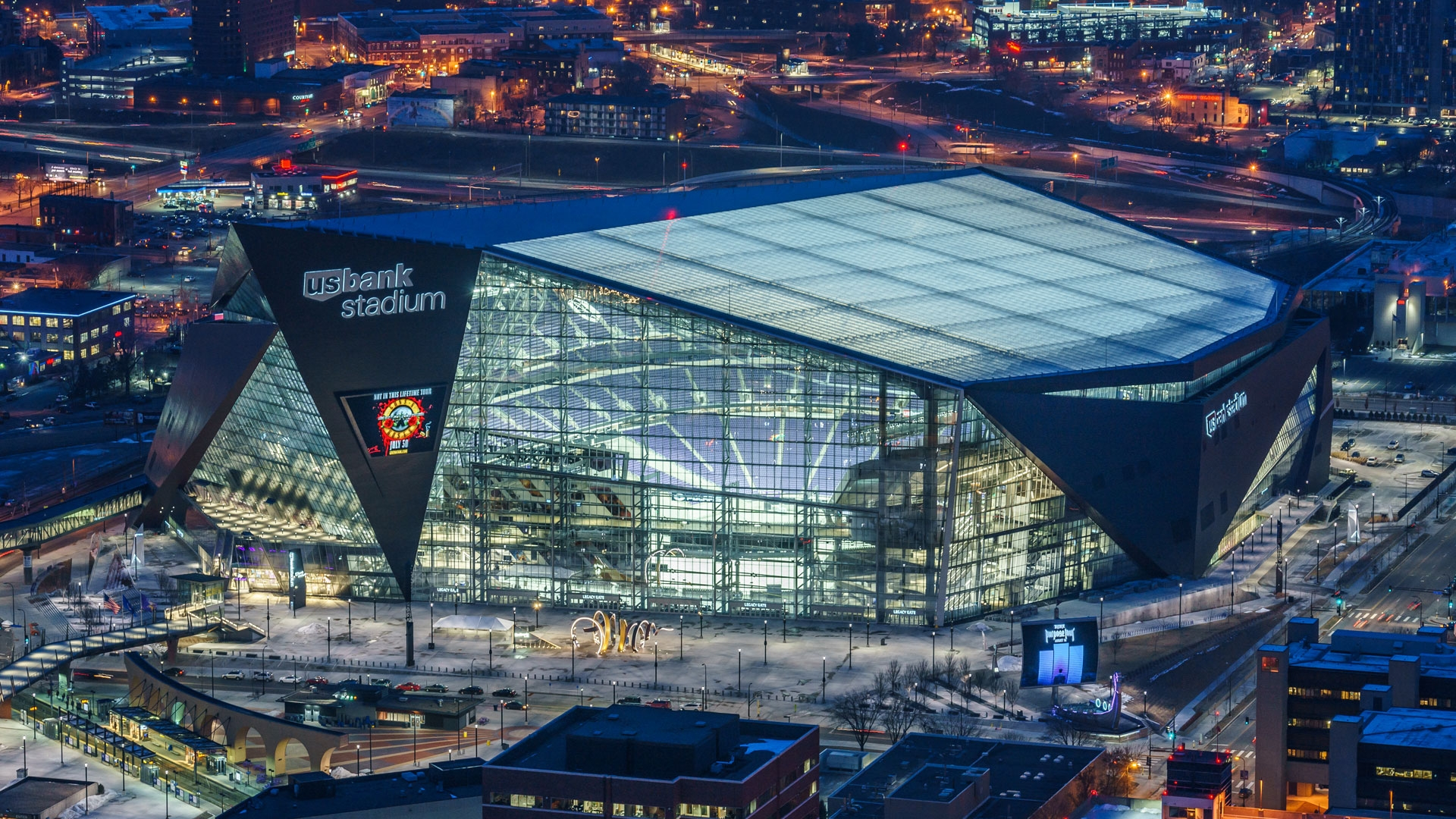 The home for Super Bowl LII is just seven miles from downtown Saint Paul