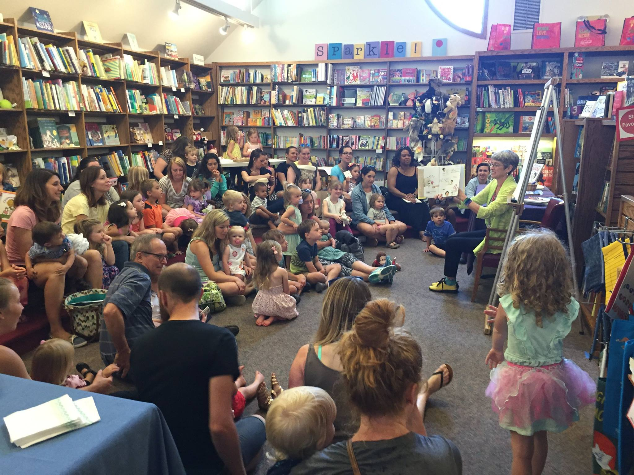 Saint Paul community storytime