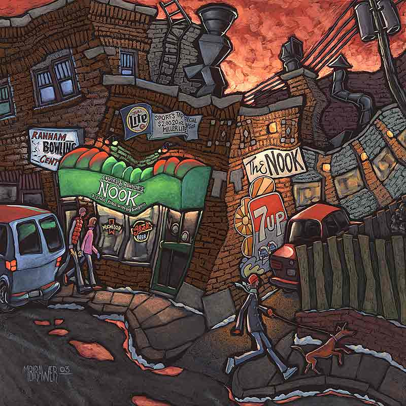 Minneapolis Painters: Around Town: Artist Michael Birawer