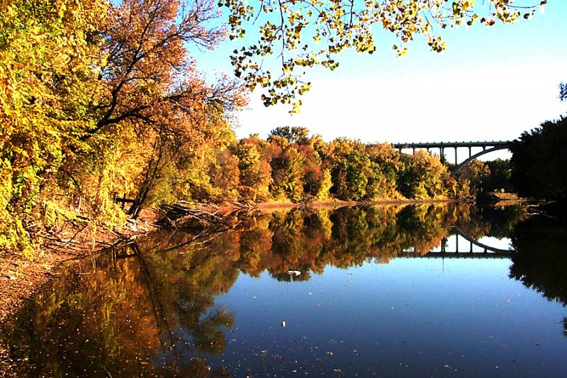 Fort Snelling in Autumn
