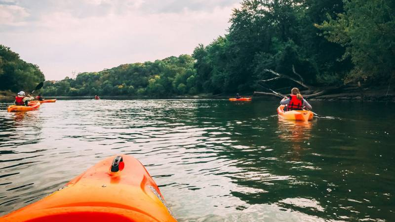 Paddle Share in Saint Paul