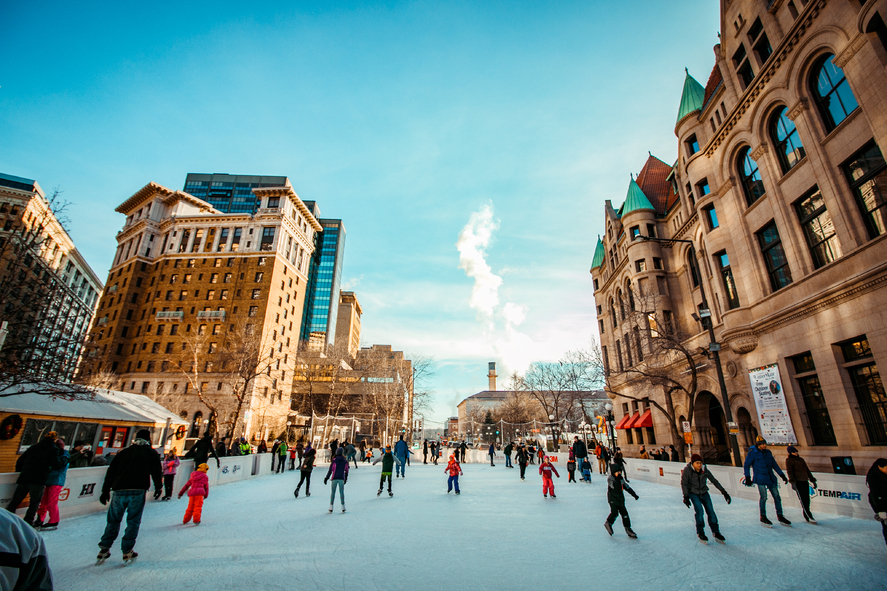 WinterSkate and Rice Park