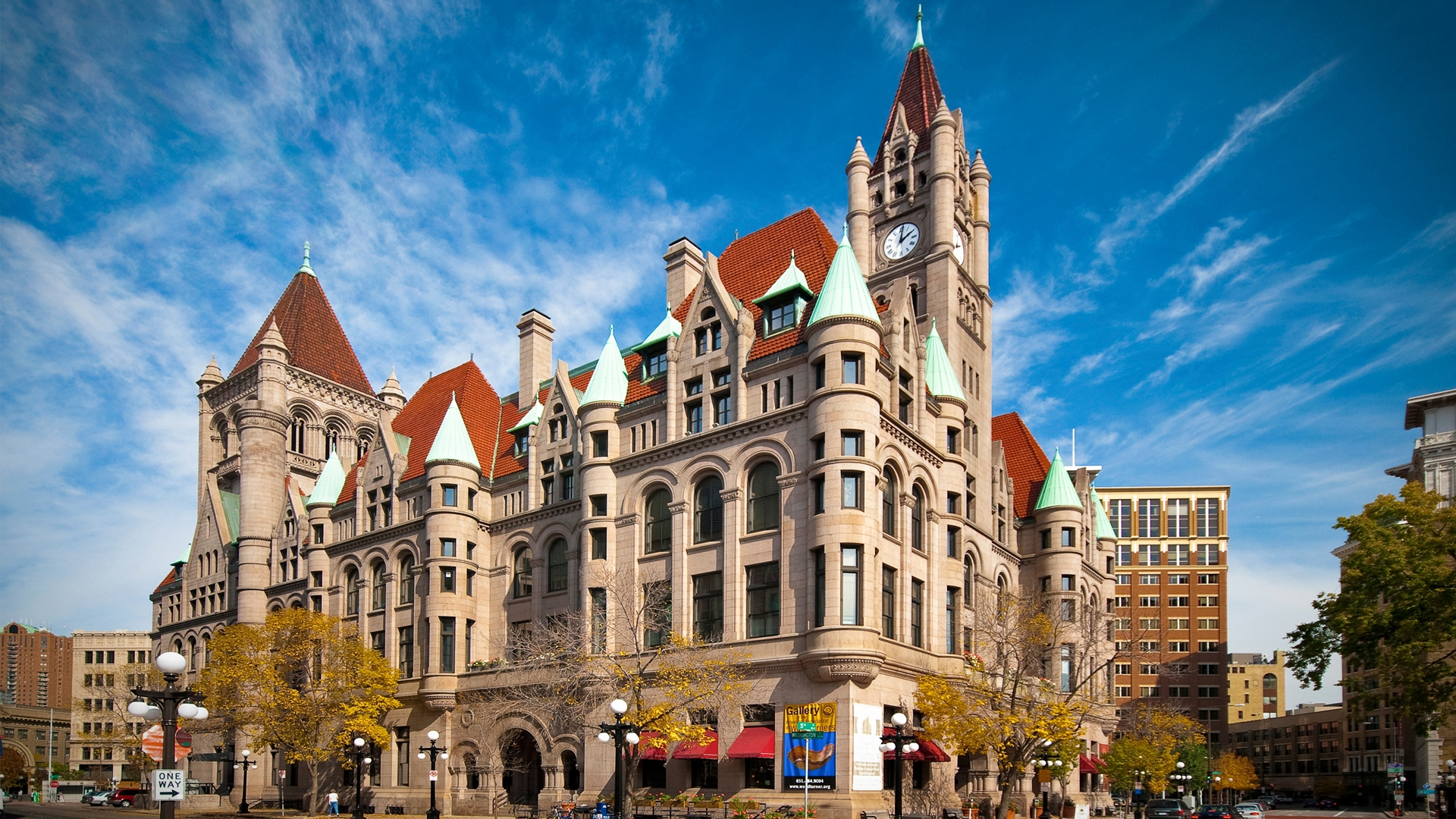 Visit Saint Paul's castle, Landmark Center, in the heart of downtown next to Rice Park.