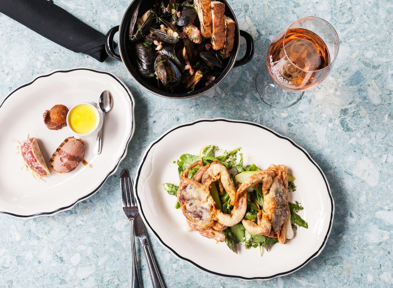 Meritage oyster bar