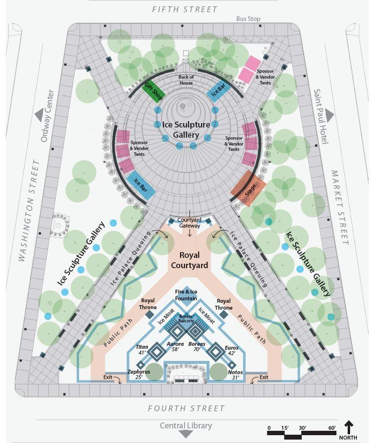 Winter Carnival map