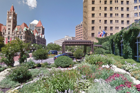 The Saint Paul Hotel Garden