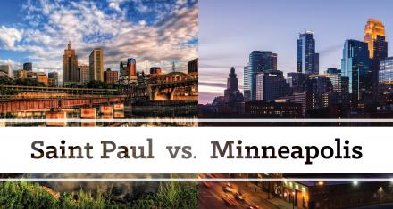 Tale of the Tape: Saint Paul vs. Minneapolis