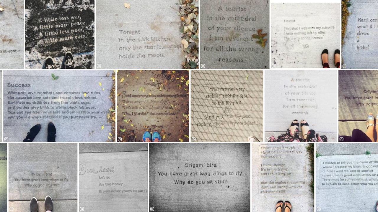 Everyday Poems for City Sidewalks: A Guide to Saint Paul's Sidewalk Poetry